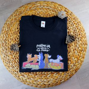 Camiseta Negra Habilidades Caninas